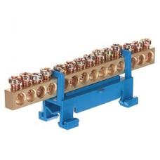 Шина нулевая на DIN-изолятор типа Стойка ШНИ-6х9-14-С-С