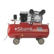 AC931031 Воздушный компрессор Sturm, 2400 Вт, 100 л, 370 л/мин, 8 бар, 1100 об/мин, ремень