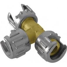 Разветвитель предназначен для деления потока воздуха из пневмокомпрессора на 2 луча