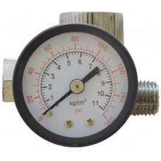 Регулятор подачи воздуха с манометром