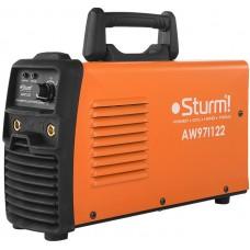AW97I122 Сварочный аппарат Sturm,220А РАСШИР НАПР 160-250В, 60%, HotStart/AntiStick/ArcForc