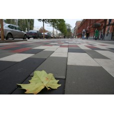 Плитка тротуарная Патио 600х600х60 мм серый