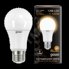 Лампа LED 10Вт А60 Е27 белый свет Filament OPAL Gauss