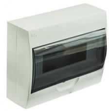 IEK Бокс ЩРн-П-12 навесной пластик белый прозр.дверь IP40