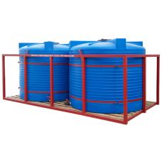 Кассета для перевозки воды и ЖКУ 2*4500Т blue