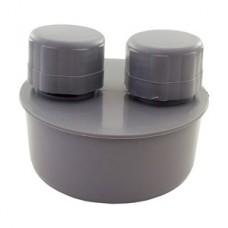 Вакуумный клапан (аэратор) ф110мм Политек