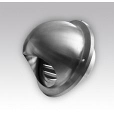 16ВМ, Выход стенной вентиляц.металл.с фланцем ф160мм