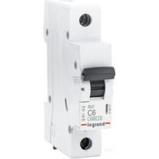 Legrand RX3 Автоматический выключатель  6А 1Р(С) 4,5