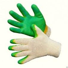 Перчатки 2-й латекс зеленые