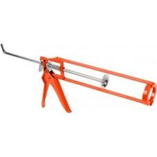 Пистолет для герметика 225 мм  скелетный, металлопластиковый корпус 14222