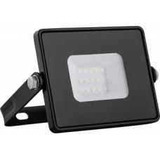 Прожектор светодиодный FERON LL-918 2835 SMD 10W 4000K, IP65 черный,мат.стекло