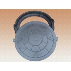 Люк полимерно-композитный тяжелый круглый