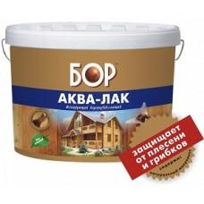 Аква-лак нар/внут орех (бан 0,9 кг)